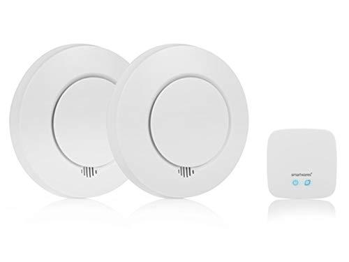 Smartwares SH8-99103 Smart Home Rauchmelder Set/ Intelligenter Alarm...