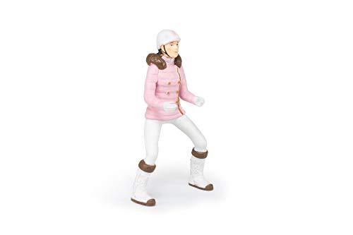 Papo 52011 Reiterin Fashion Winter Pferde, FOHLEN UND PONYS Figur,...