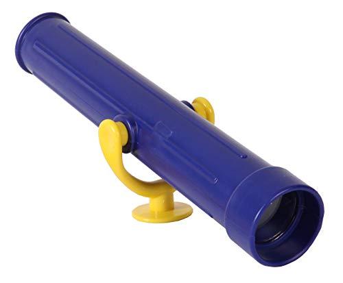 Gartenpirat Teleskop, Farbe blau für Kinder-Spielanlagen, Spielhaus