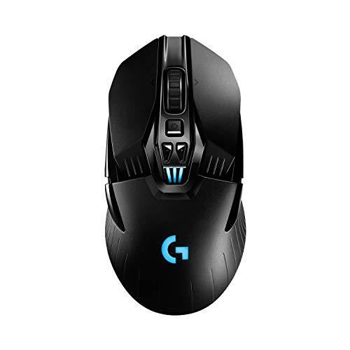 Logitech G903 LIGHTSPEED kabellose Gaming-Maus mit HERO 25K DPI...