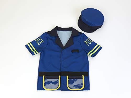 Theo Klein 8803 - Polizeikostüm mit Mütze, Spielzeug