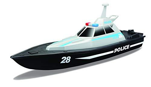 Maisto Tech R/C Polizeiboot: Ferngesteuertes Spielzeugboot im Polizei-Look, 35 Meter Reichweite, Akku mit...