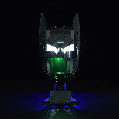 SEREIN LED Beleuchtungsset für Lego 76182 DC Batman Helm, LED Licht...