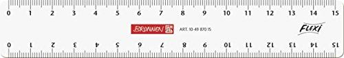 Brunnen 104987015 Flexi-Lineal (für Schule und Büro 15 cm,... *