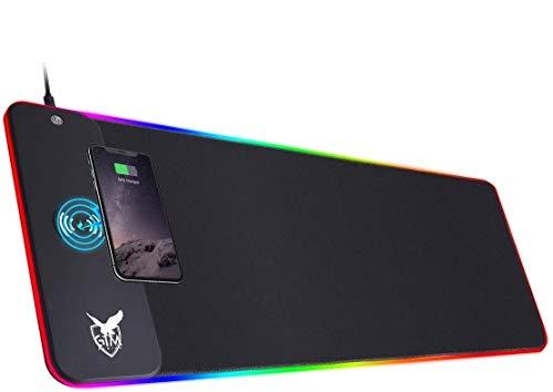 ICETEK RGB Gaming Mauspad XXL LED Mousepad Großes 800 x 300 x 4mm 10...