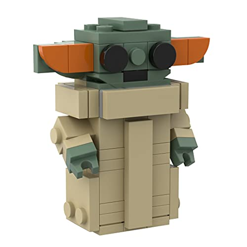 LEIKE Baby Yoda Baukasten 66 Stück Yoda Minifiguren BrickHeadz...