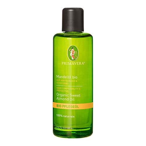 PRIMAVERA Pflegeöl Mandelöl bio 100 ml - Naturkosmetik, Pflanzenöl, Hautöl - pflegend,...