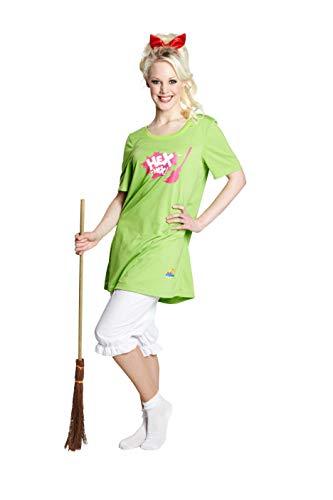 Generique - HEX HEX Damen Kostüm Bibi Blocksberg 2-teilig und rotem...