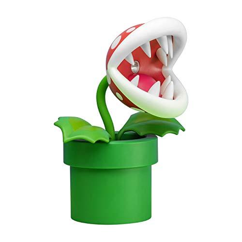 Paladone Piranha Plant Lampe BDP   LED-Licht mit flexiblem Kopf...