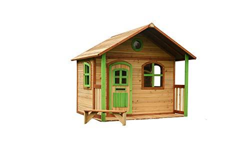 Beauty.Scouts Holzspielhaus mit Veranda Ulli 173x180x180cm aus Holz in...