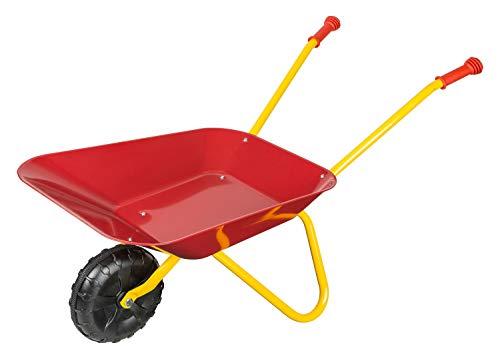Idena 7131707 - Metallschubkarre für Kinder ab 24 Monaten in rot...