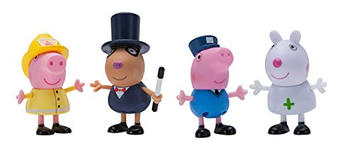 Peppa Pig When I Grow Up What I Want To Be 4-Figuren-Set