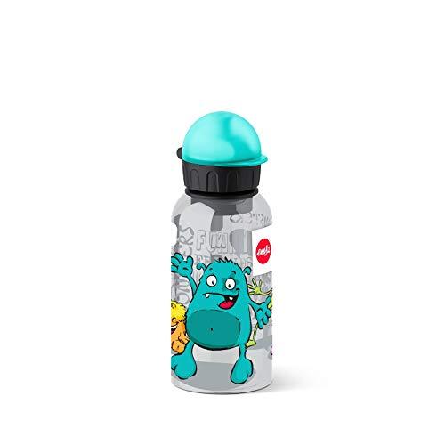 Emsa 518123 Kinder-Trinkflasche, 400 ml, Sicherheitsverschluss, Kids...
