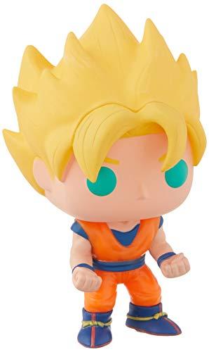Dragonball Z Super Saiyan Goku POP! Figur Glows in The Dark 10 cm...