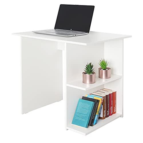 RICOO WM089-WM Schreibtisch Weiß Matt 82 x 76 x 60 cm Holz...