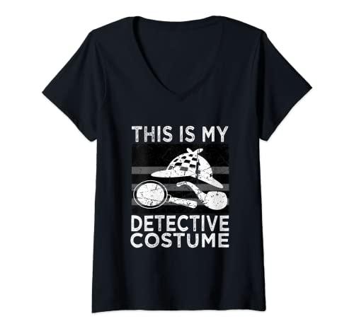 Damen Detektiv-Kostüm, Hemd für Herren, Damen, Kinder T-Shirt mit...