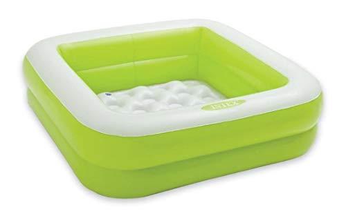 Intex Babypool Play Box Pool, Farblich Sortiert, 85 x 85 x 23 cm, Sortierte Farben