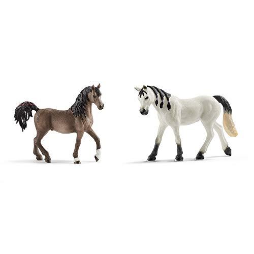 Schleich Pferde Neuheiten 2020 Set - Araber Hengst 13907 + Stute 13908...