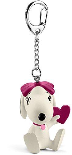 Schleich 22037 - Schlüsselanhänger Belle mit Herz