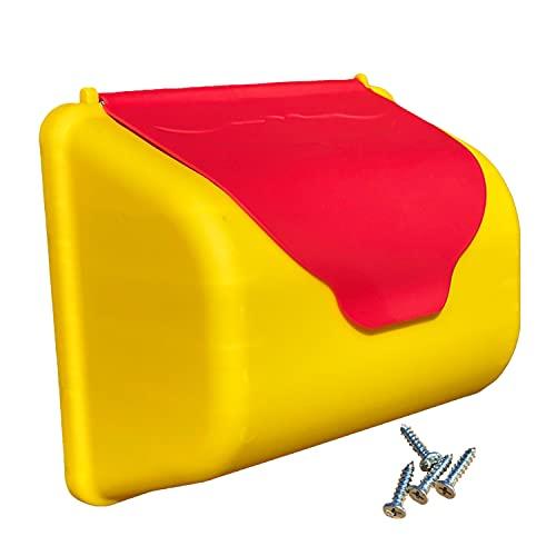 Kinder Briefkasten für Spielturm oder Spielhaus, Kletterturm Zubehör...