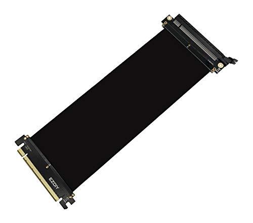 EasyDiy Alles flexiblen Erweiterung X 16 Neue PCI-Express-Kabel Abdeckung Hafen High-Speed-Adapter-Karte Riser...