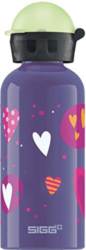 SIGG Glow Heartballoon Kinder Trinkflasche (0.4 L), schadstofffreie...