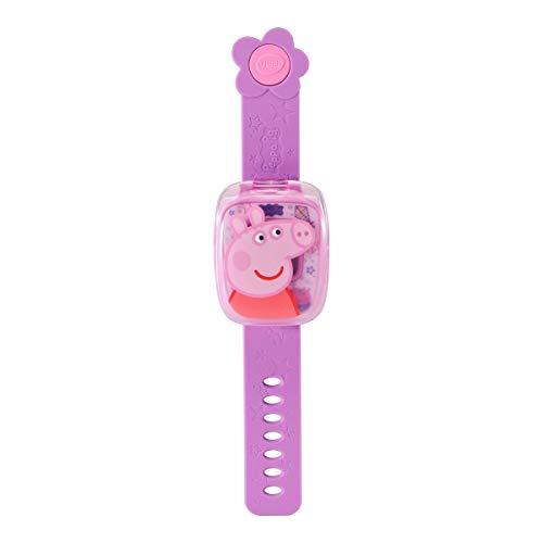 Vtech 80-526004 Peppas Lernuhr Pink Lernuhr