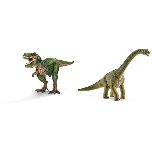 Schleich 14581 - Brachiosaurus & 14525 - Tyrannosaurus Rex