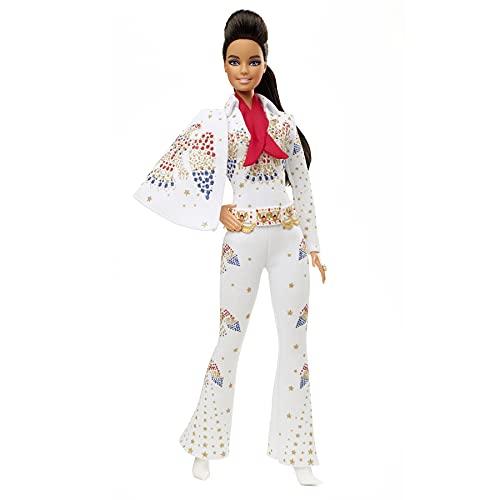 Barbie GTJ95 - Signature Music Partnership Elvis Presley Puppe, für...