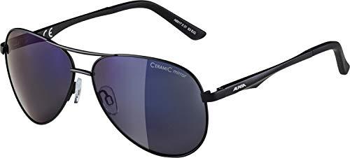 ALPINA Unisex - Erwachsene, A 107 Sonnenbrille, black matt, One size