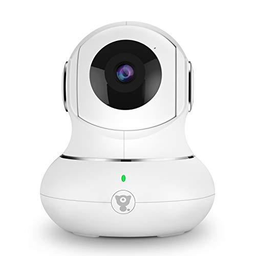 Überwachungskamera Innen, Babyphone, WLAN IP Kamera, 1080P WiFi Kamera mit Nachtsicht,...