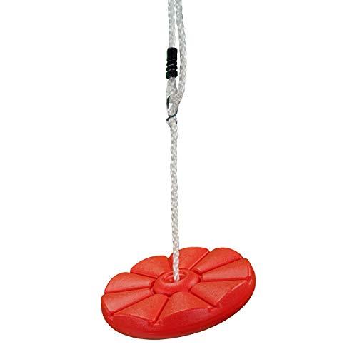 Best Sporting Tellerschaukel aus Kunststoff 28 cm, rot...