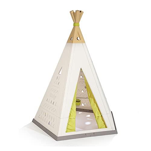 Smoby - Tipi - Spielzelt für drinnen und draußen, höhenverstellbar,...