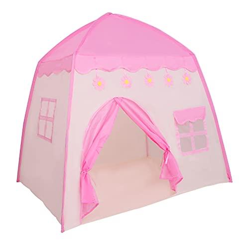 S SMAUTOP Spielzelt, Kinderzelt für Mädchen Prinzessin Tipi Zelt...