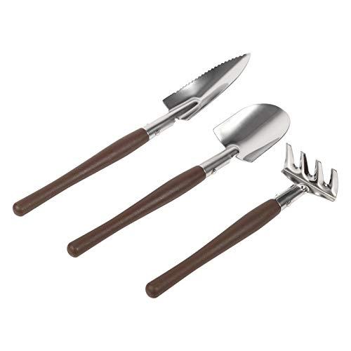 YUUGAA Gartenwerkzeug-Set, 3X Schaufel Spatenrechen...