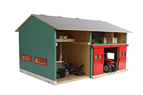 Van Manen Kids Globe Werkstatt mit Lagerraum (Maßstab 1:32, Dach...