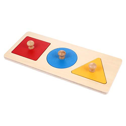 TOYANDONA 1 Satz Geometrisches Puzzle Board Montessori...