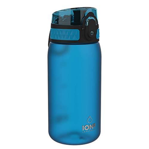 Ion8 Auslaufsichere Kinder Trinkflasche, BPA-frei, Blau