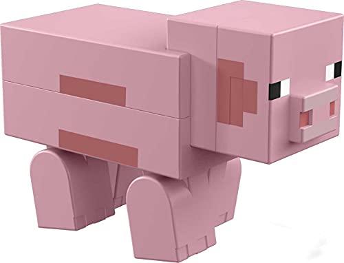 Minecraft GVV18 Pig Action-Figuren, Mehrfarbig