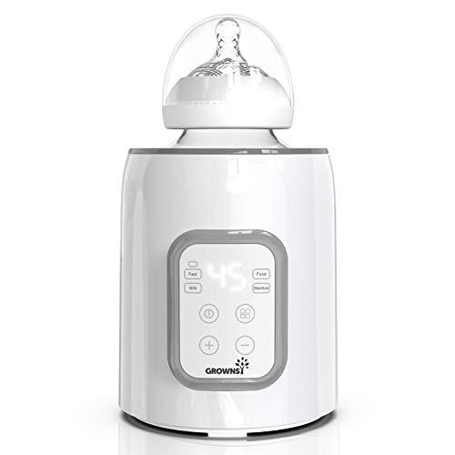 Flaschenwärmer baby Sterilisator für babyflaschen 5-in-1Fast...
