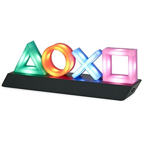 Paladone Playstation Icons Light mit 3 Lichtmodi - Musikreaktive...
