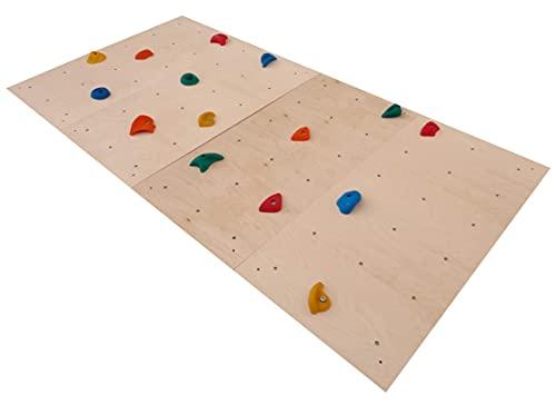 burtan HOME Set Kletterwand-Panel 75x225 cm Indoor, 25...