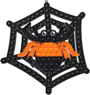 XXL Spider Halloween Pop Fidget Spielzeug Pack mit Jumbo Poppit...