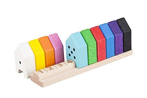Lobito Spielzeuge Holzabakus Sortierspielzeug   Frühe Entwicklung &...