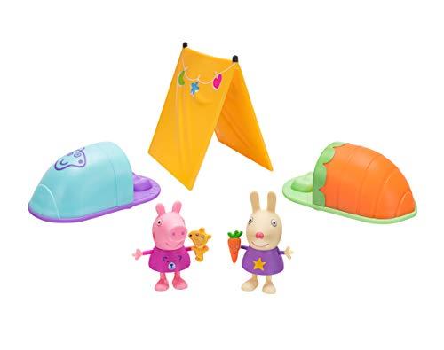 Peppa Pig PEP0559 Peppa Wutz Spielfiguren Set, Übernachtungsparty im...