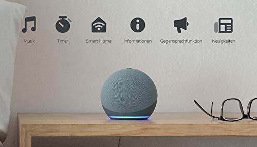 Echo Dot (4. Generation)   Smarter Lautsprecher mit Alexa   Blaugrau