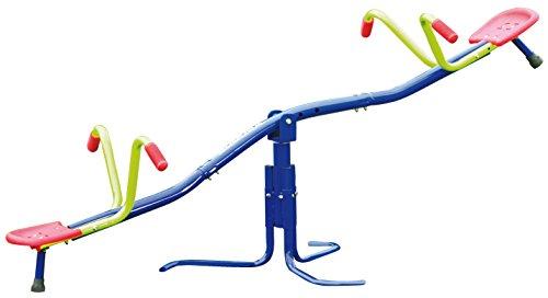 HUDORA Karussell Wippe HD 200 für den Garten - Kinder-Wippe - 64020