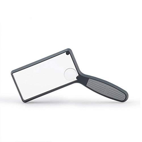 HJXSXHZ366 Halten Lupe 2,5 X 4 X Hd Lupe Handheld Doppel Objektiv Schmuck Karten Handwerk Lesen Schmuck...