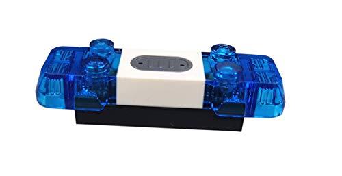 LEGO Blaulicht Einzelteil Electric Ersatzteil Licht und Sound Sirene...