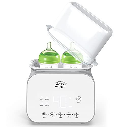 Flaschenwärmer 6-in-1 Sterilisator für Babyflasche,...